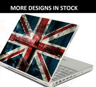 17 UNION JACK Laptop Skin Cover Notebook/Macbook Air Decal