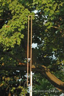 Meter VHF SLIM JIM amateur ham radio J Pole base antenna 144 148MHz