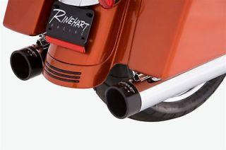 RINEHART RACING 4 SLIP ON MUFFLERS 1995 2013 HARLEY TOURING 2011 2010