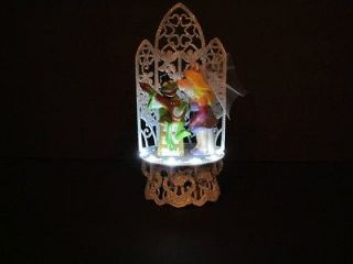 Miss Piggy & Kermit Sparkle Lighted Wedding Cake Topper Funny