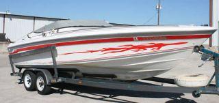 speed boat car van truck rv trailer vinyl graphics sm79