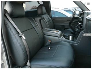 GMC Sierra Extended Cab 2003 2004 2005 2006 Clazzio Leather Custom