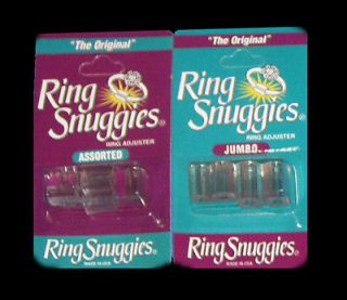 The Original Ring Adjusters   Sizers Jewelry Silver Gold 2 Packs