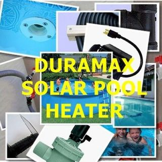 Solar Swimming Pool Heater   One day DIY project   Heat your pool for