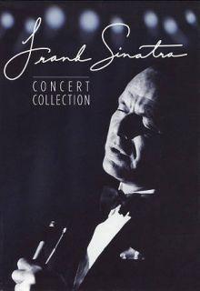 Frank Sinatra Concert Collection DVD, 2010, 7 Disc Set