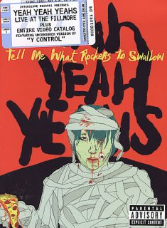 Yeah Yeah Yeahs   Tell Me What Rockers To Swallow DVD, 2004