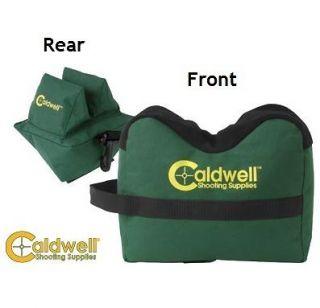 caldweld rifle bench rest sand shooting bag set single more