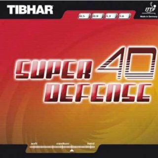 tibhar super defense 40 table tennis rubber from thailand time