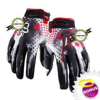 Bicycle Bike Motorcycle Motocross Riding Racing Gloves Size XL 002