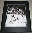CASSIUS CLAY MUHAMMAD ALI vs SONNY LISTON Boxing PoSTER