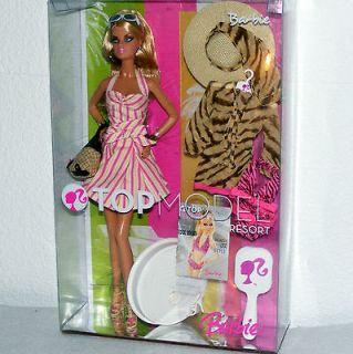barbie 2007 top model resort barbie nib one day shipping