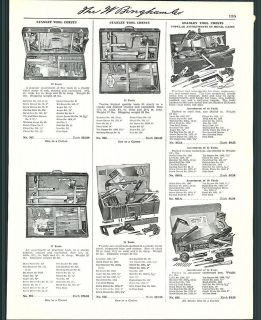 1941 ad stanley tool chests cabinets  9