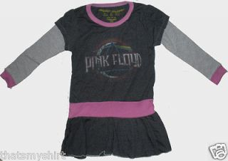 New Authentic Rowdy Sprout Pink Floyd Dark Side Vintage Style Girls