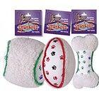 Plush Squeaky Dog Toys Tiny Plush Baby Bottles 3 Pack