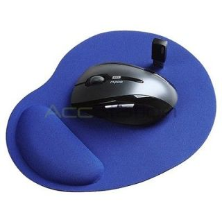 Newly listed Blue Wrist Comfort Mouse Pad For Optical Trackball Mouse