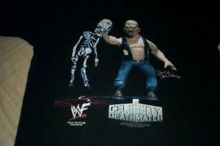 1998 WWF MTV LARGE STONE COLD STEVE AUSTIN CELEBRITY DEATHMATCH SHIRT
