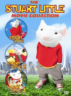 Stuart Little Movie Collection DVD, 2006, 3 Disc Set