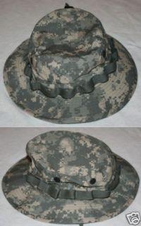 army combat uniform acu camouflage boonie hat 7 5 8
