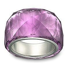 Newly listed NEW IN BOX SWAROVSKI NIRVANA PETITE AMETHYST RING SIZE 8