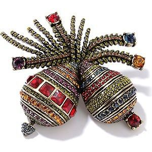 HEIDI DAUS ORNAMENTAL CRYSTAL PIN *SWAROVSKI CRYSTALS* **