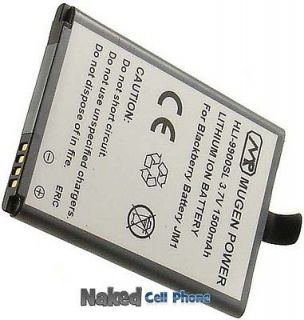 MUGEN 1500mAh SLIM EXTENDED BATTERY FOR BLACKBERRY BOLD TOUCH 9900