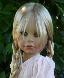 New * Tabitha * Susan Lippl Masterpiece Doll 38 Blonde Hair Blue Eyes