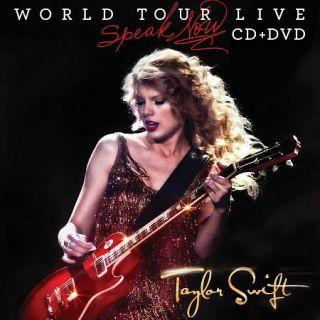 Taylor Swift Speak Now World Tour Live DVD, CD DVD