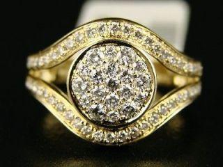 ladies womens joe rodeo fashion diamond ring 14k 1 25
