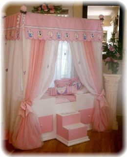 TODDLER Disney Princess Canopy BeddingGirl BedCanopy Beds, girls