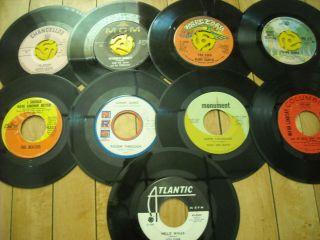 Record lot of 9 The Beatles, Frankie Avalon, Rare Earth, Sony James