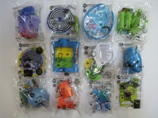 2012 burger king discovery kids toys complete set of 12