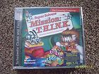 SUPER SOLVERS MISSION THINK LEARNING CO. COMPUTER CD ROM GAME BRAND