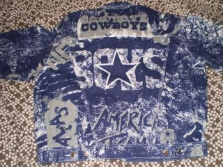 dallas cowboys starter jacket in Clothing,