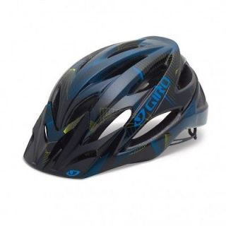 Bicycle Helmet Mountain Bike Cycling Black Cyan Lime Large NEW 2012