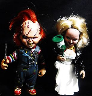TOYS BRIDE OF CHUCKY ACTION FIGURE/DOLLS SET CHUCKY AND TIFFANY