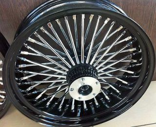 Newly listed FAT SPOKE 16 REAR WHEEL BLACK 16 X 3.5 HARLEY SOFTAIL