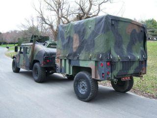 1998 RAYTHEON M1102 MILITARY HMMWV CARGO TRAILER m101a2 m101a3 m998