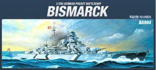 JJHOBBY] 1/350 GERMAN BATTLESHIP BISMARCK Academy Model Kits