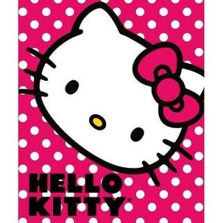 hello kitty fleece blanket new  24 99