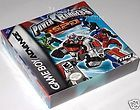 Power Rangers Space Patrol Delta (Game Boy Advance) Brand NEW