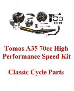 Tomos A35 70cc Big Bore Hi Performance Compl Engine Kit Targa LX