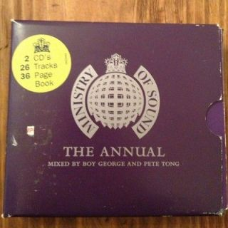 OF SOUND The Annual Vol 1 2xCD 1995 Boy George & Pete Tong RARE OOP