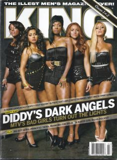 KING MAGAZINE DANITY KANE CARMELO ANTHONY FRANK LUCAS TAG J.D. SMOOVE