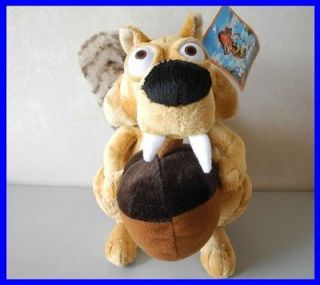 squirrels scrat Ice Age 4 Continental Drift 10H Plush Animal Toy