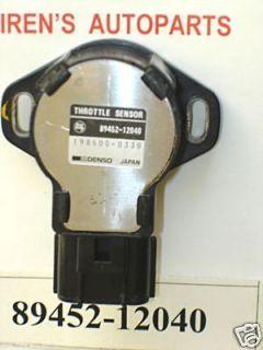 88 95 toyota tps throttle position sensor 89452 12040 one