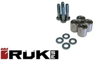 Jeep Cherokee XJ ZJ 1 Transfer Case Drop Kit For Lifts Aluminum