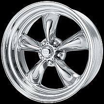 American Racing TORQUE THRUST II Wheels Torq 15x7 8 Staggered