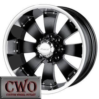Hulk Wheels Rims 6x139.7 6 Lug Chevy GMC 1500 Tundra Titan Sierra