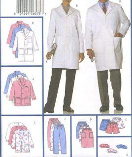 Misses Mens Unisex Uniform Coat Jacket Skirt Shorts Pant Hat Sewing