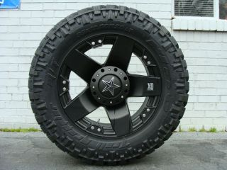 XD Rockstar 775 Black Wheels 285/65 18 Nitto Trail Grappler tires
